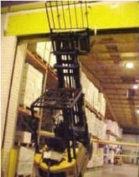 Lifting And Moving A Load Operating A Forklift Safely